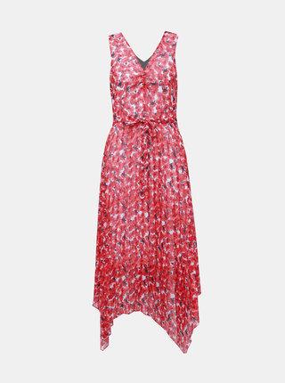 Červené kvetované šaty Dorothy Perkins