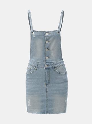 Světle modré džínové šaty s laclem Blendshe Bleen