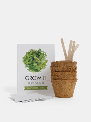 Set pro vypěstování bylinek Gift Republic Grow it