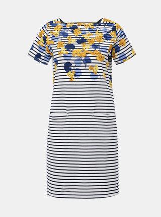 Modro-bílé vzorované šaty Tom Joule