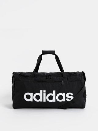 Černá sportovní taška s potiskem adidas CORE 41,5 l