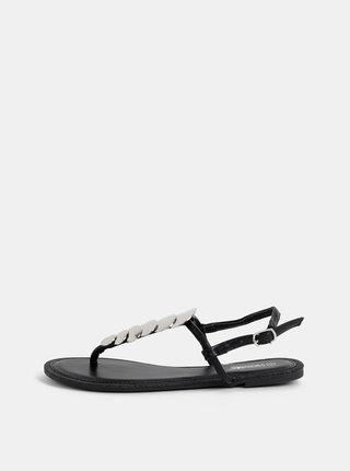 Černé dámské sandály Haily´s Maira