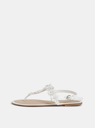 Bílé dámské sandály Haily´s Flora