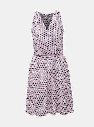 Rúžové vzorované šaty Haily´s Ava
