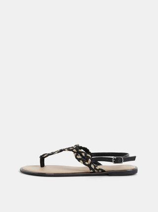Čierne dámske sandále Haily´s Enola