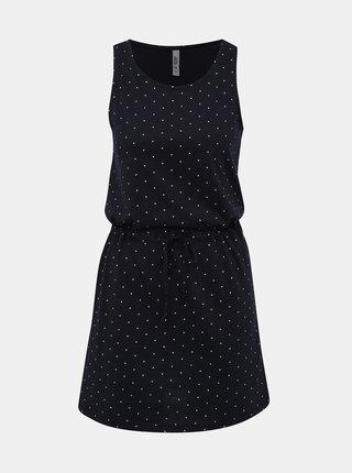 Tmavě modré puntíkované šaty Haily´s Livia