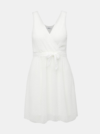 Biele bodkované šaty Haily´s Melody