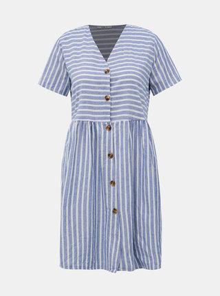 Bielo-modré pruhované šaty Haily´s Nia