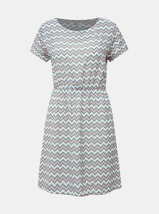 Zeleno-bílé vzorované šaty Haily´s Evi