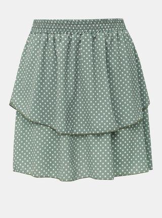 Zelená bodkovaná sukňa Haily´s Lilith