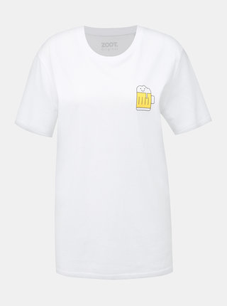 Bílé dámské tričko ZOOT Original Pivo