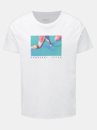 Bílé pánské tričko ZOOT Original Pobřežní lýtka