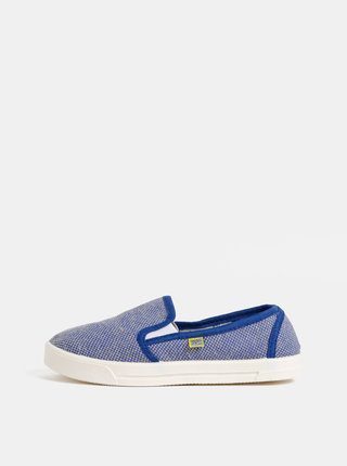 Pantofi slip-on albastri melanj unisex Oldcom Cooper