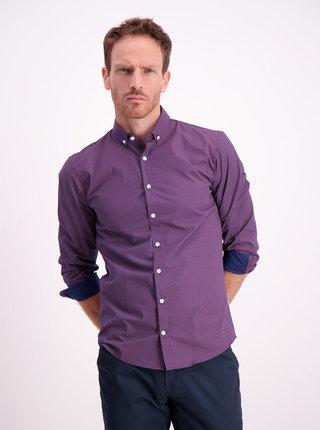Fialová vzorovaná košeľa Lindbergh