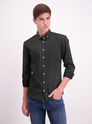 Čierna vzorovaná košeľa Lindbergh