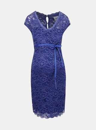 Modré čipkované šaty Mama.licious New Mivana