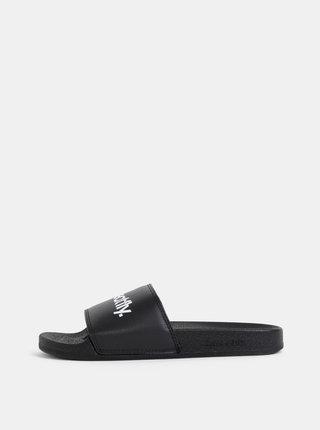 Černé pánské pantofle Meatfly Hudson