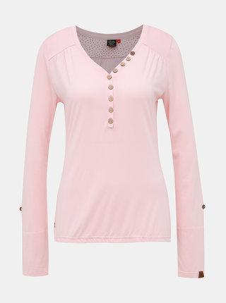 Rúžové dámske tričko Ragwear Pinch Solid
