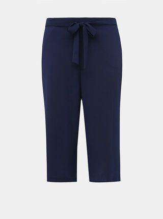 Tmavě modré culottes M&Co Plus