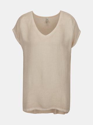 Světle růžové basic tričko Blendshe Jin
