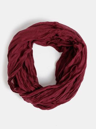 Vínový dámský šátek Haily´s Uni