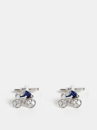 Manžetové knoflíčky ve stříbrné barvě Avantgard Lux