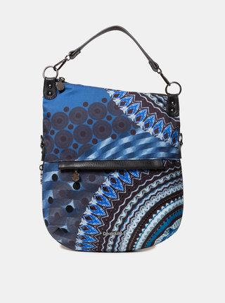 Tmavomodrá vzorovaná kabelka Desigual Blue Friend