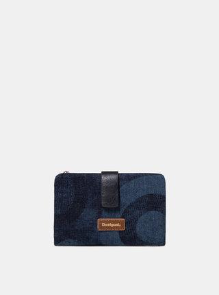 Tmavě modrá džínová peněženka Desigual Gravity
