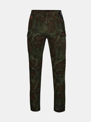 Pantaloni army verzi pentru barbati - Superdry