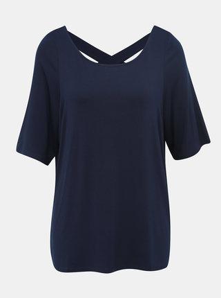 Tmavě modré tričko Dorothy Perkins Curve