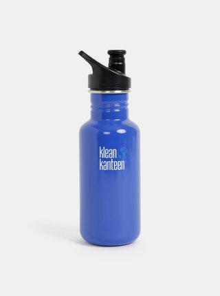 Modrá nerezová fľaša Klean Kanteen 532 ml