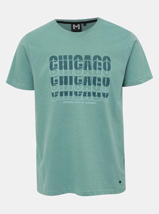 Zelené pánské tričko s potiskem Haily´s Mason