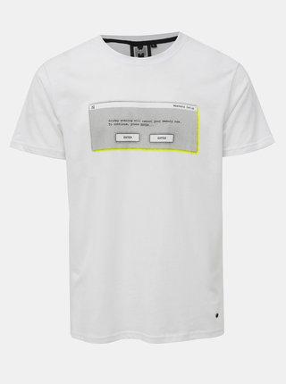 Bílé pánské tričko s potiskem Haily´s Mason