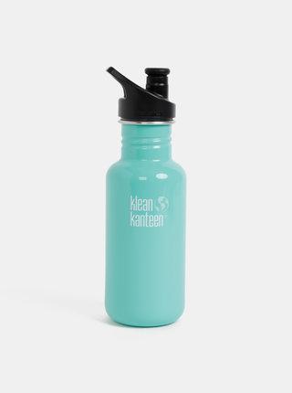 Tyrkysová nerezová fľaša Klean Kanteen 532 ml