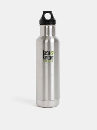 Nerezová termoláhev ve stříbrné barvě Klean Kanteen 592 ml