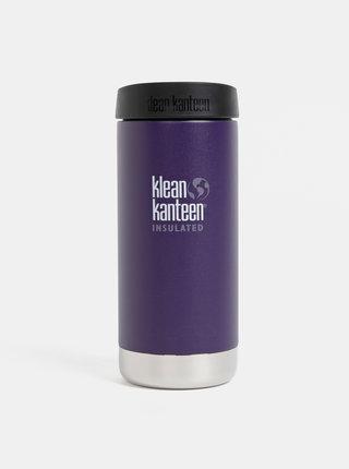 Fialový nerezový termohrnček Klean Kanteen 355 ml