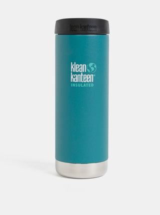 Petrolejový nerezový termohrnček Klean Kanteen 473 ml