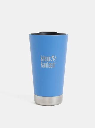 Modrý nerezový termohrnček Klean Kanteen 473 ml