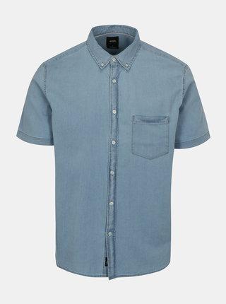 Svetlomodrá rifľová košeľa Burton Menswear London
