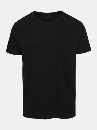 Tricou negru de bumbac pentru barbati -  Burton Menswear London