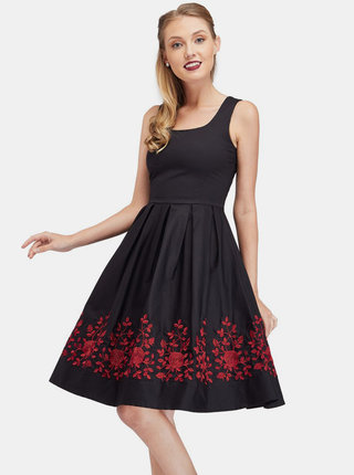 Černé šaty Dolly & Dotty Amanda