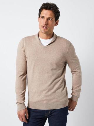 Béžový svetr Burton Menswear London