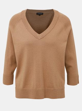 Hnedý sveter Selected Femme Thea