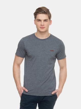 Tmavě modré pánské žíhané tričko Ragwear Nedie