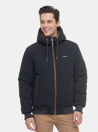 Tmavomodrá pánska funkčná zimná bunda Ragwear Percy