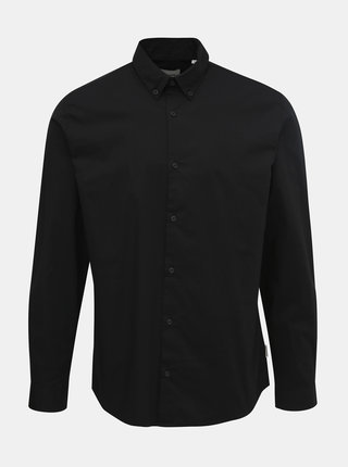 Čierna slim fit košeľa Jack & Jones Track