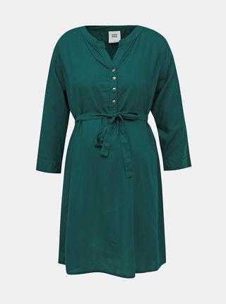 Tmavozelené tehotenské šaty Mama.licious Mercy