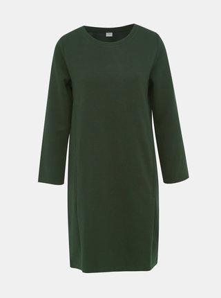 Tmavozelené šaty Jacqueline de Yong Saga
