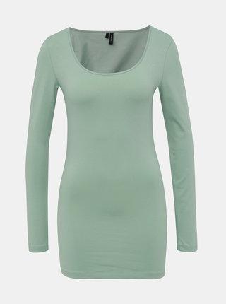 Světle zelené basic tričko VERO MODA Maxi