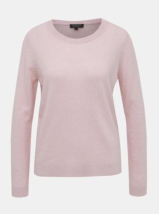 Svetloružový basic sveter Selected Femme Aya
